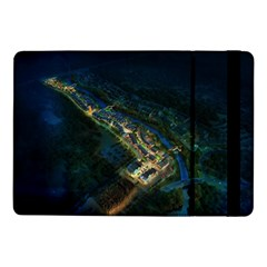 Commercial Street Night View Samsung Galaxy Tab Pro 10 1  Flip Case