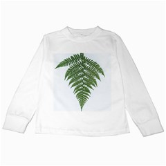 Boating Nature Green Autumn Kids Long Sleeve T Shirts by BangZart