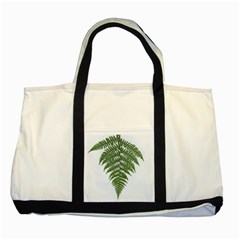Boating Nature Green Autumn Two Tone Tote Bag by BangZart