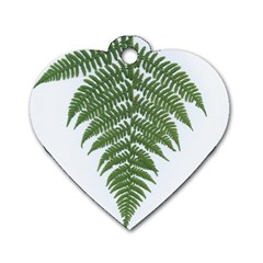 Boating Nature Green Autumn Dog Tag Heart (two Sides) by BangZart