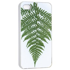 Boating Nature Green Autumn Apple Iphone 4/4s Seamless Case (white)