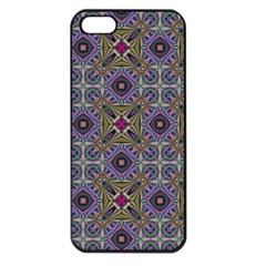 Vintage Abstract Unique Original Apple Iphone 5 Seamless Case (black)
