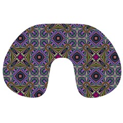 Vintage Abstract Unique Original Travel Neck Pillows