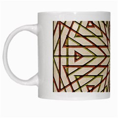 Kaleidoscope Online Triangle White Mugs