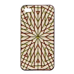 Kaleidoscope Online Triangle Apple Iphone 4/4s Seamless Case (black) by BangZart