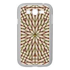 Kaleidoscope Online Triangle Samsung Galaxy Grand Duos I9082 Case (white)