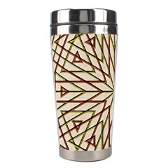 Kaleidoscope Online Triangle Stainless Steel Travel Tumblers