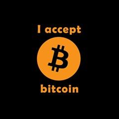 I Accept Bitcoin Magic Photo Cubes by Valentinaart