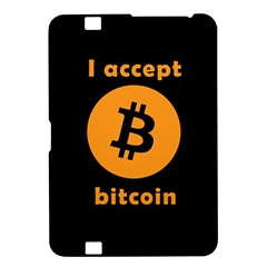 I Accept Bitcoin Kindle Fire Hd 8 9  by Valentinaart