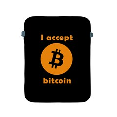 I Accept Bitcoin Apple Ipad 2/3/4 Protective Soft Cases by Valentinaart