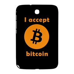 I Accept Bitcoin Samsung Galaxy Note 8 0 N5100 Hardshell Case  by Valentinaart