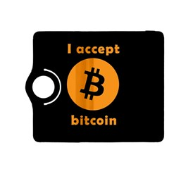 I Accept Bitcoin Kindle Fire Hdx 8 9  Flip 360 Case by Valentinaart