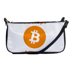 I Accept Bitcoin Shoulder Clutch Bags by Valentinaart