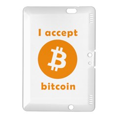I Accept Bitcoin Kindle Fire Hdx 8 9  Hardshell Case by Valentinaart