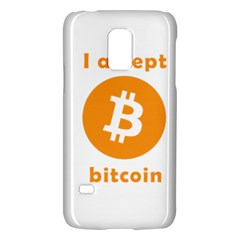 I Accept Bitcoin Galaxy S5 Mini by Valentinaart