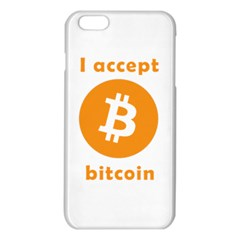 I Accept Bitcoin Iphone 6 Plus/6s Plus Tpu Case by Valentinaart