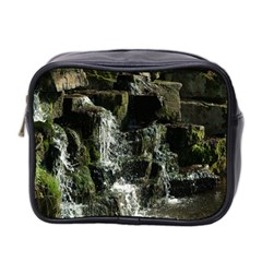 Water Waterfall Nature Splash Flow Mini Toiletries Bag 2 Side