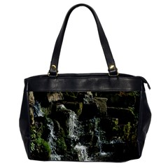 Water Waterfall Nature Splash Flow Office Handbags by BangZart