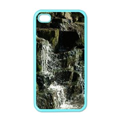 Water Waterfall Nature Splash Flow Apple Iphone 4 Case (color)