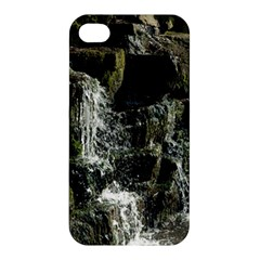 Water Waterfall Nature Splash Flow Apple Iphone 4/4s Hardshell Case