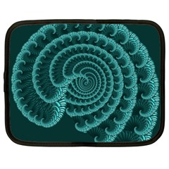 Fractals Form Pattern Abstract Netbook Case (xxl)