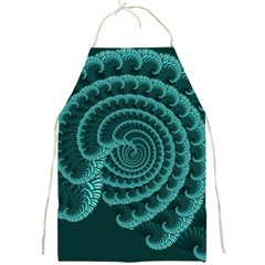 Fractals Form Pattern Abstract Full Print Aprons