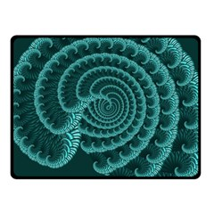 Fractals Form Pattern Abstract Fleece Blanket (small)