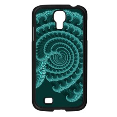 Fractals Form Pattern Abstract Samsung Galaxy S4 I9500/ I9505 Case (black)