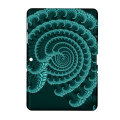 Fractals Form Pattern Abstract Samsung Galaxy Tab 2 (10 1 ) P5100 Hardshell Case