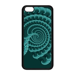 Fractals Form Pattern Abstract Apple Iphone 5c Seamless Case (black) by BangZart