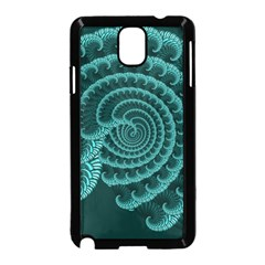 Fractals Form Pattern Abstract Samsung Galaxy Note 3 Neo Hardshell Case (black)