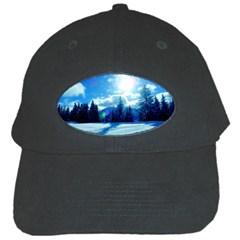 Ski Holidays Landscape Blue Black Cap