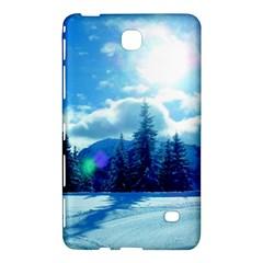 Ski Holidays Landscape Blue Samsung Galaxy Tab 4 (7 ) Hardshell Case