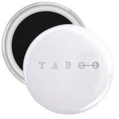 Taboo 3  Magnets by Valentinaart