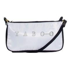 Taboo Shoulder Clutch Bags by Valentinaart