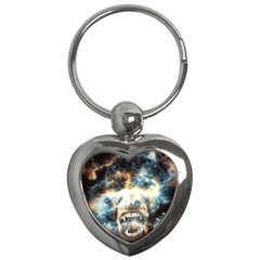 Universe Vampire Star Outer Space Key Chains (heart)