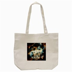 Universe Vampire Star Outer Space Tote Bag (cream)