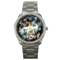 Universe Vampire Star Outer Space Sport Metal Watch by BangZart
