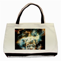 Universe Vampire Star Outer Space Basic Tote Bag