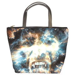 Universe Vampire Star Outer Space Bucket Bags