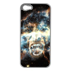 Universe Vampire Star Outer Space Apple Iphone 5 Case (silver)