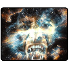 Universe Vampire Star Outer Space Double Sided Fleece Blanket (medium)  by BangZart