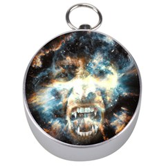 Universe Vampire Star Outer Space Silver Compasses