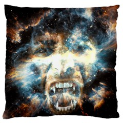 Universe Vampire Star Outer Space Large Flano Cushion Case (one Side) by BangZart