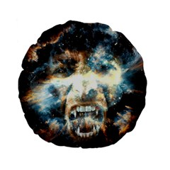 Universe Vampire Star Outer Space Standard 15  Premium Flano Round Cushions