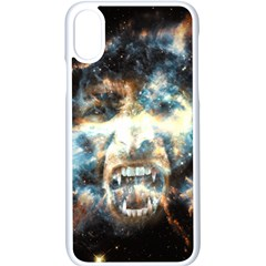 Universe Vampire Star Outer Space Apple Iphone X Seamless Case (white) by BangZart