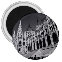 Architecture Parliament Landmark 3  Magnets by BangZart