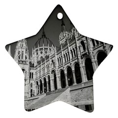 Architecture Parliament Landmark Ornament (star) by BangZart