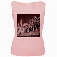 Architecture Parliament Landmark Women s Pink Tank Top