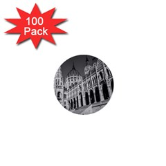 Architecture Parliament Landmark 1  Mini Buttons (100 Pack)  by BangZart